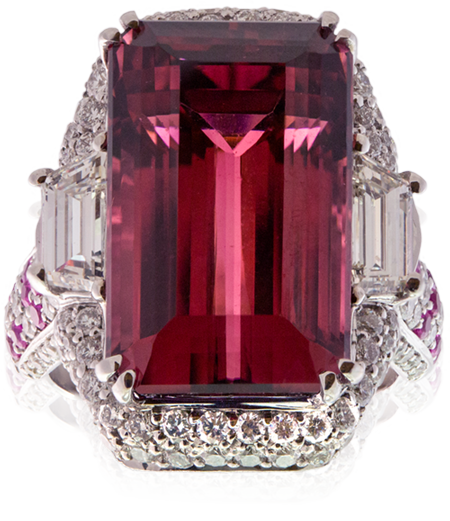 Rubellite Tourmaline Ring by Melànie D.